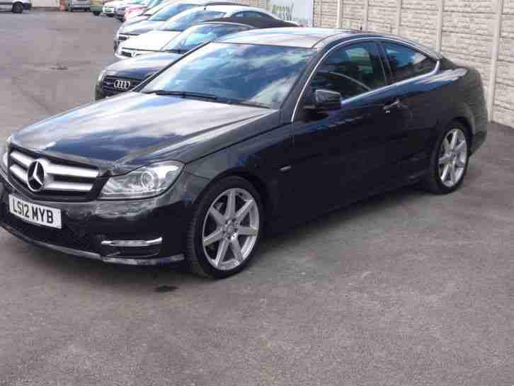 mercedes benz 2012 c220 amg sport cdi blueef black car for sale. Black Bedroom Furniture Sets. Home Design Ideas