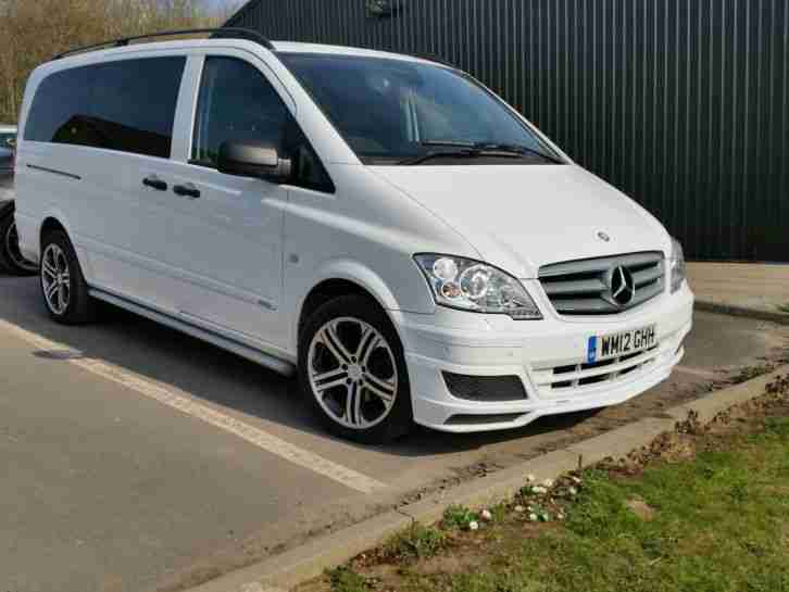 mercedes benz 2012 vito 122 cdi dualiner a white sport x car for sale. Black Bedroom Furniture Sets. Home Design Ideas