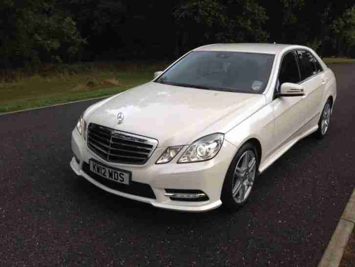 2012 mercedes e220 cdi sport blue efficiency pearl white damaged car for sale. Black Bedroom Furniture Sets. Home Design Ideas