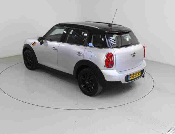 2012 MINI COUNTRYMAN 1.6 COOPER (PEPPER) 5DR HATCHBACK PETROL
