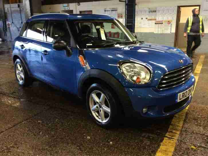 2012 MINI COUNTRYMAN 1.6 ONE PEPPER PACK 1F OWNER, SATNAV, CLIMATE, FABULOUS!