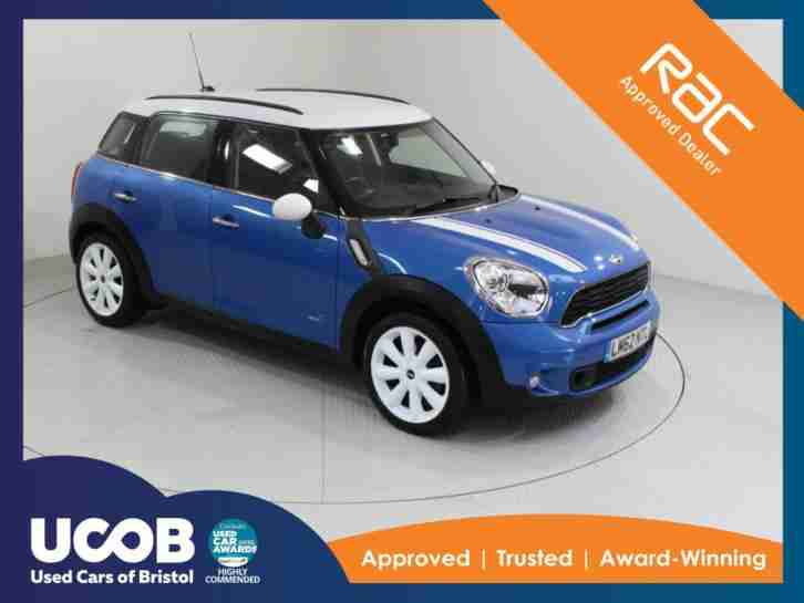 2012 MINI COUNTRYMAN 2.0 COOPER SD ALL4 5DR HATCHBACK DIESEL