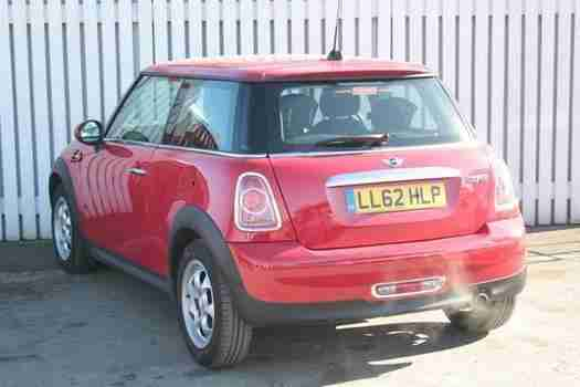 2012 MINI Cooper 1.6 Cooper 3 door Petrol Hatchback