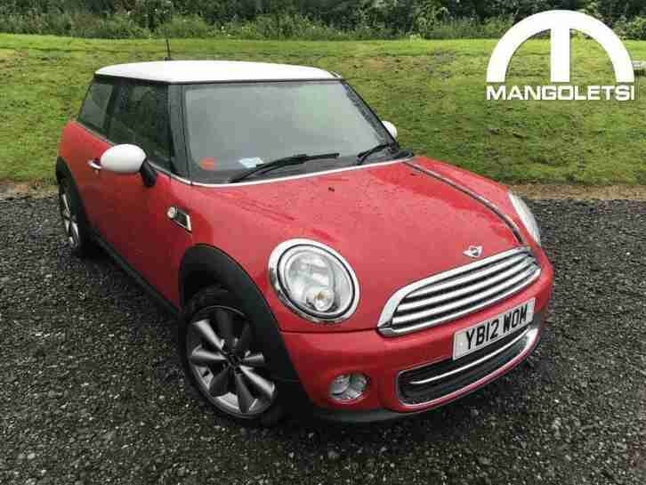 2012 MINI Hatch 1.6 Cooper London 12 3dr Petrol Manual