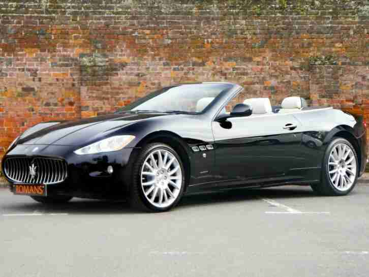 2012 Maserati Grancabrio V8 2dr Auto Only 15,900 Miles 2 Owners CONVERTIBLE