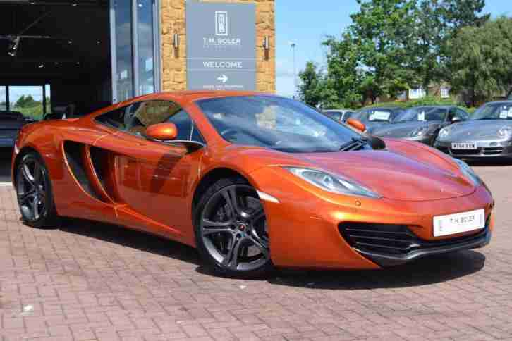 2012 McLaren MP4 12C V8 Petrol orange