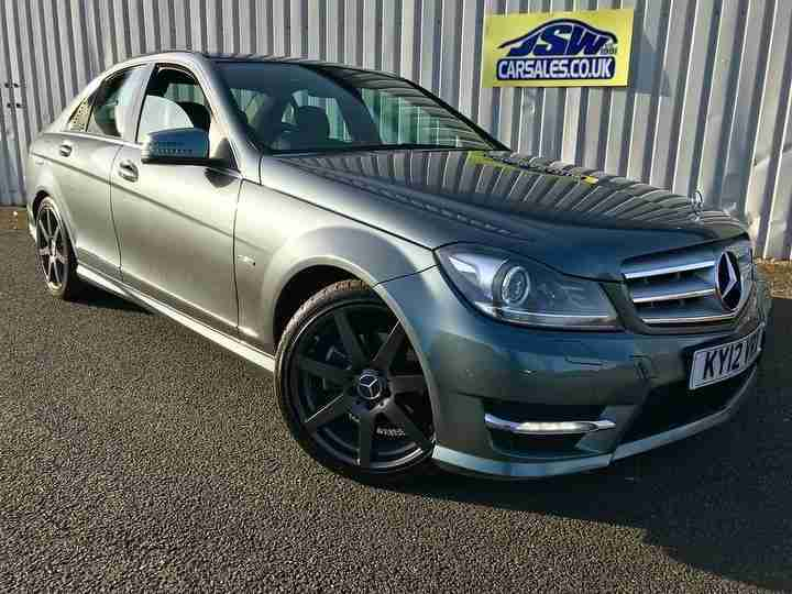 2012 Mercedes Benz C250 2.1CDI Blue F