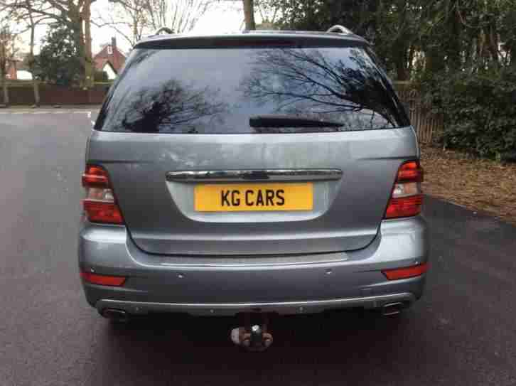 2012 Mercedes-Benz ML 300 3.0CDI Sport Blue F auto BUY FOR £58 PER WEEK