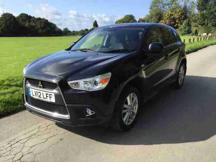 2012 Mitsubishi ASX 3 Petrol black Manual