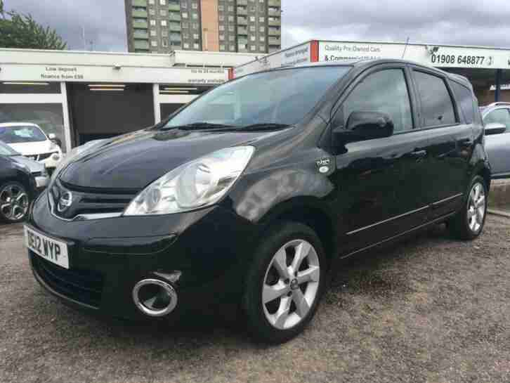 2012 Note 1.4 N Tec 5dr 5 door MPV