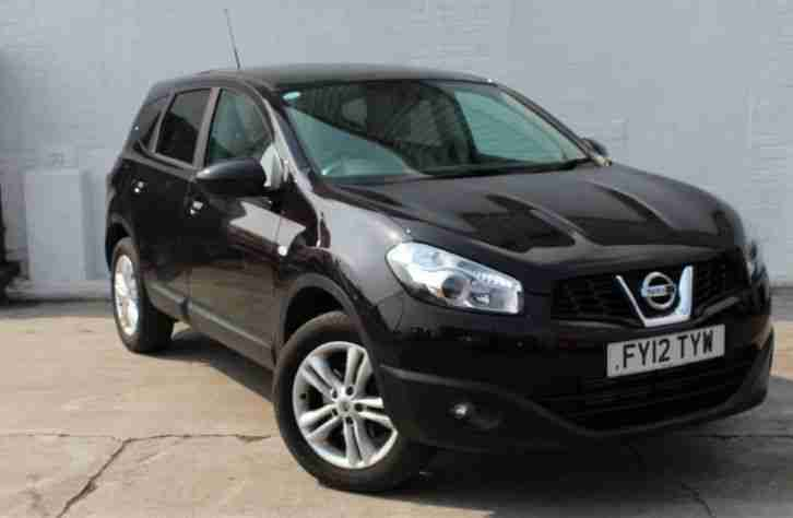 nissan 2012 qashqai acenta plus 2 dci 7 seat version great family. Black Bedroom Furniture Sets. Home Design Ideas