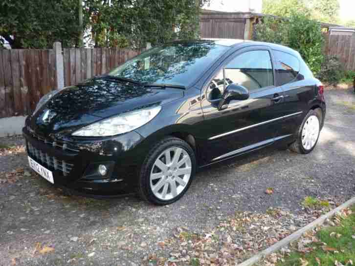 2012 Peugeot 207 ALLURE 1.6 HDi DIESEL 3 DR, MANUAL, HALF LEATHER, 17 ALLOYS