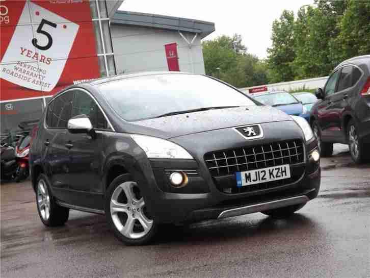 Peugeot 2012 3008 Allure E Hdi Fap Diesel Grey Semi Auto