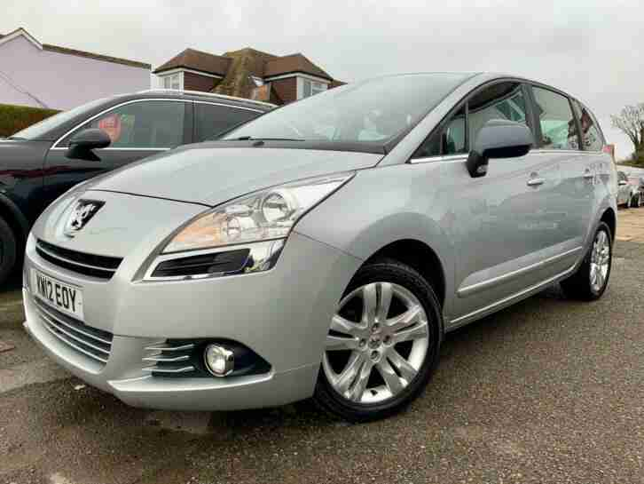 2012 Peugeot 5008 1.6 HDi 112 Active II 5dr Diesel silver Manual