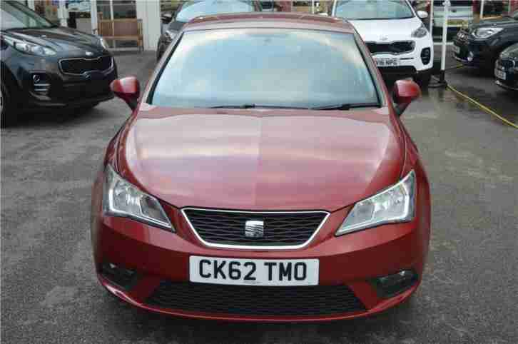 2012 SEAT Ibiza SE Petrol red Manual