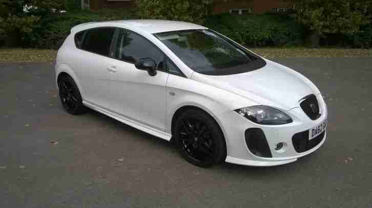 Seat 2012 LEON SUPERCOPA FR + CR TD WHITE. car for sale