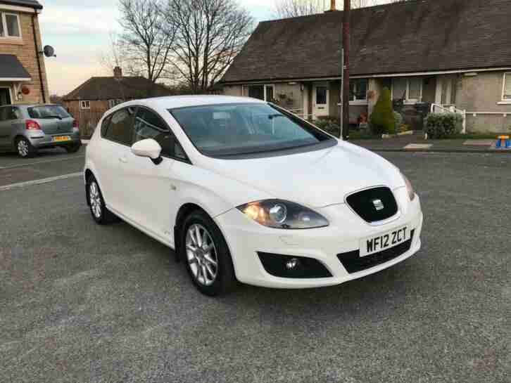 2012 SEAT Leon 1.6 TDI CR SE Copa 5dr HATCHBACK Diesel Manual