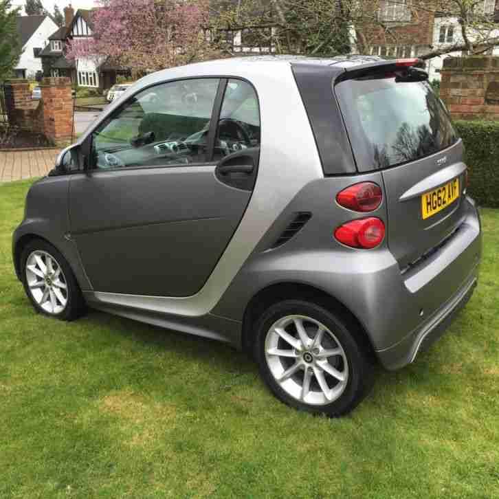 Smart 2012 FORTWO PASSION CDI AUTO SILVER. Car For Sale