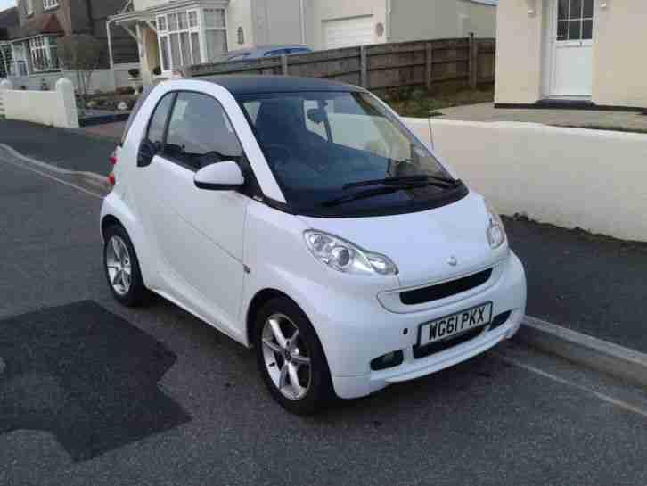 Smart 2012 FORTWO PULSE MHD AUTO WHITE 15000 miles car for sale