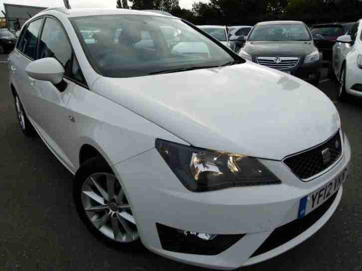 seat 2012 ibiza 1 6 tdi fr 5dr manual estate car for sale. Black Bedroom Furniture Sets. Home Design Ideas