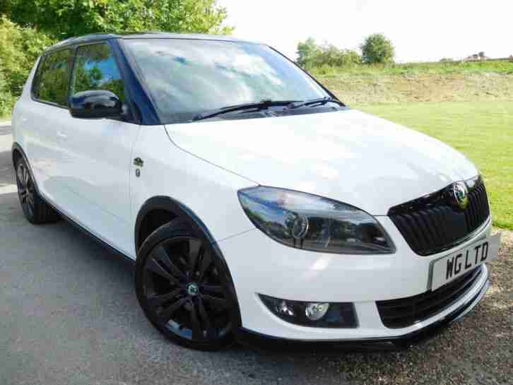 skoda 2012 fabia 1 2 tsi 105 monte carlo 5dr low mileage 1 owner. Black Bedroom Furniture Sets. Home Design Ideas