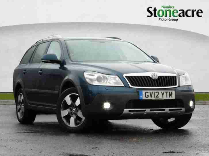 skoda 2012 octavia 2 0 tdi cr scout estate 5dr diesel manual 155 g. Black Bedroom Furniture Sets. Home Design Ideas