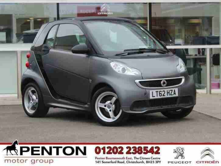 2012 fortwo 1.0 Turbo Passion Softouch