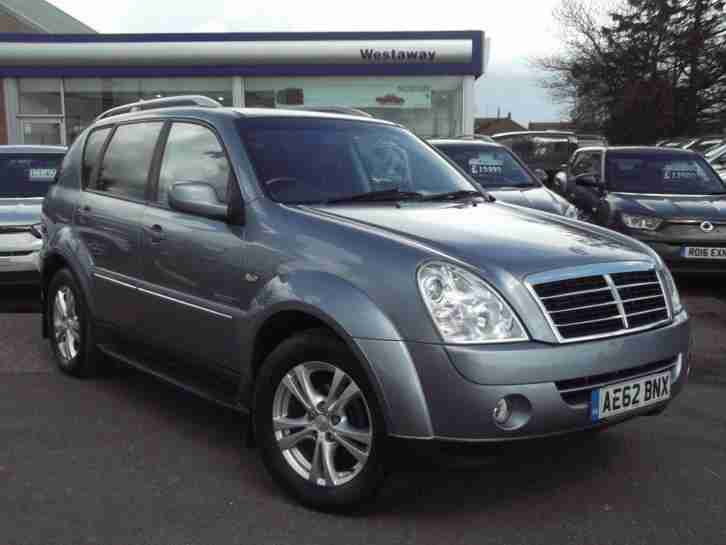 2012 Rexton 2.7 TD EX T Tronic 5dr