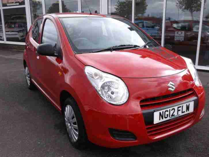 2012 Alto 1.0 SZ3 5dr 5 door Hatchback