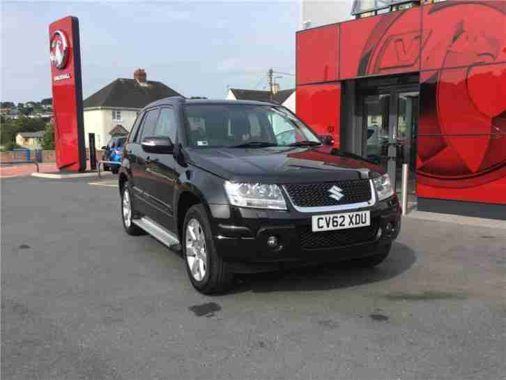 2012 Suzuki Grand Vitara 2.4 VVT SZ5 5dr Petrol black Manual