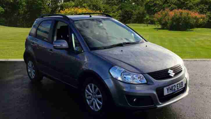 Suzuki SX4. Suzuki car from United Kingdom