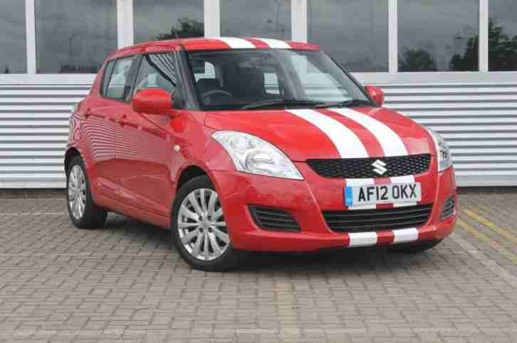 2012 Swift 1.2 SZ3 5dr Petrol Red