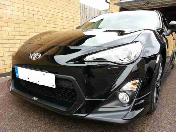 toyota 2012 gt86 d 4s with full trd body kit auto black. Black Bedroom Furniture Sets. Home Design Ideas