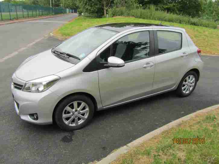 2012 TOYOTA YARIS T SPIRIT VVT-I CVT SILVER One Owner Low Miles FSH Auto