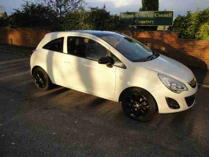 2012 VAUXHALL CORSA ACTIVE AC LIMITED 1.2 3