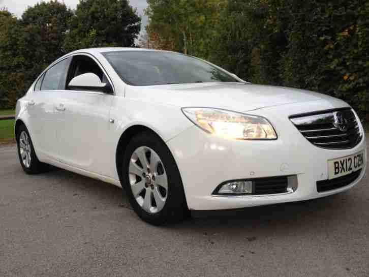 "2012 VAUXHALL INSIGNIA SRI CDTI AUTO WHITE 1 OWNER FROM NEW ""NICE CAR"""