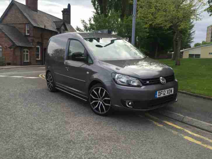 Volkswagen 2012 CADDY C20 TDI 102 GUNMETAL GREY R LINE CUSTOM BARGAIN