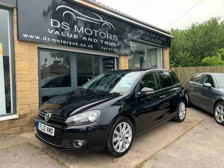 2012 GOLF GT 2.0 TDI BLACK 5 DOOR