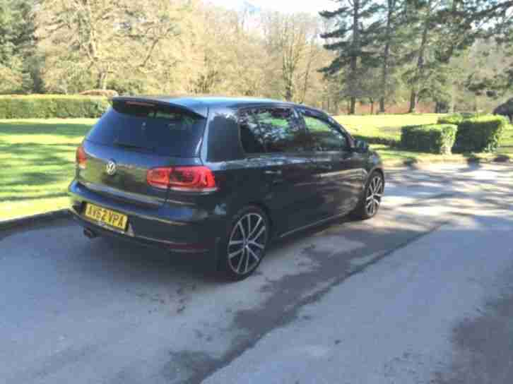 2012 Vw Golf 6 Gtd Black Full Leather Interior  Car For Sale