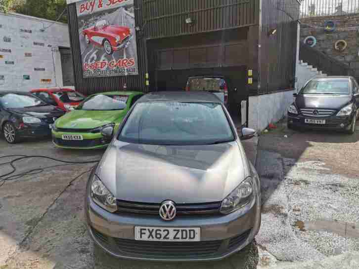 2012 VW GOLF MK6 DIESEL TDi EXAMPLE SUPERB EXAMPLE ONLY 80K GENUINE MILEAGE