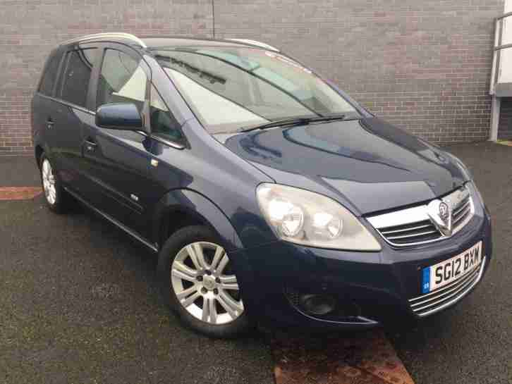 2012 Vauxhall Zafira DESIGN Petrol blue Manual