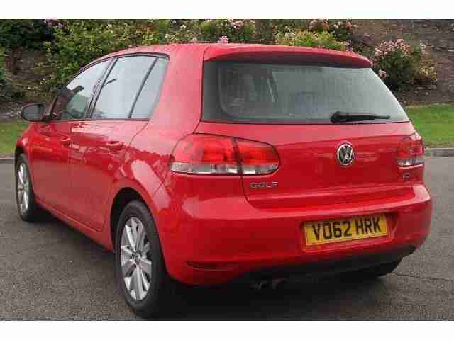 2012 Golf 1.4 Tsi Match 5Dr Petrol