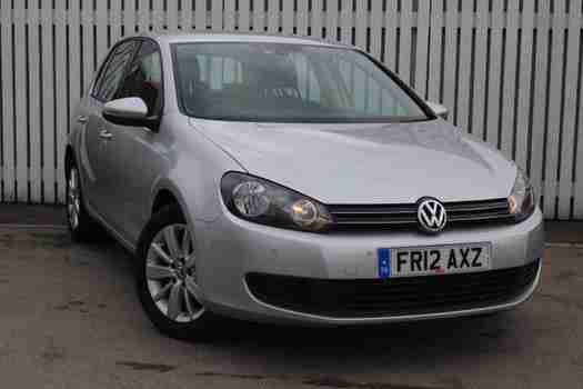 volkswagen 2012 golf 1 6 tdi 105 match 5 door diesel hatchback car for sale. Black Bedroom Furniture Sets. Home Design Ideas