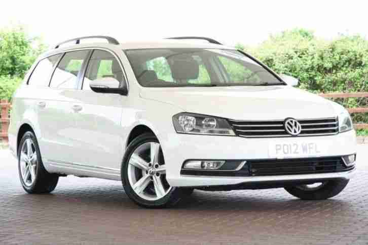 volkswagen 2012 passat 2 0 tdi bluemotion tech se 5dr diesel white. Black Bedroom Furniture Sets. Home Design Ideas