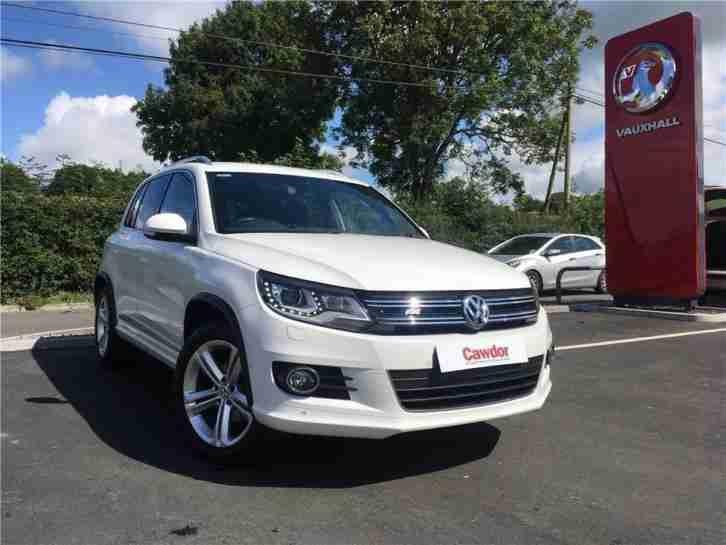 volkswagen 2012 tiguan 2 0 tdi bluemotion tech r line 5dr diesel white. Black Bedroom Furniture Sets. Home Design Ideas