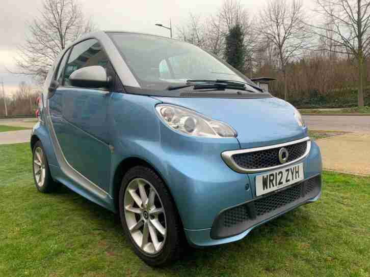 2012 smart fortwo coupe CDI Passion 2dr Softouch Auto [2010] COUPE Diesel Automa