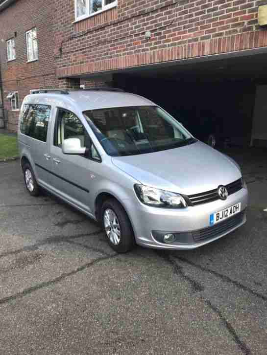2012 wheelchair passenger converted vw caddy