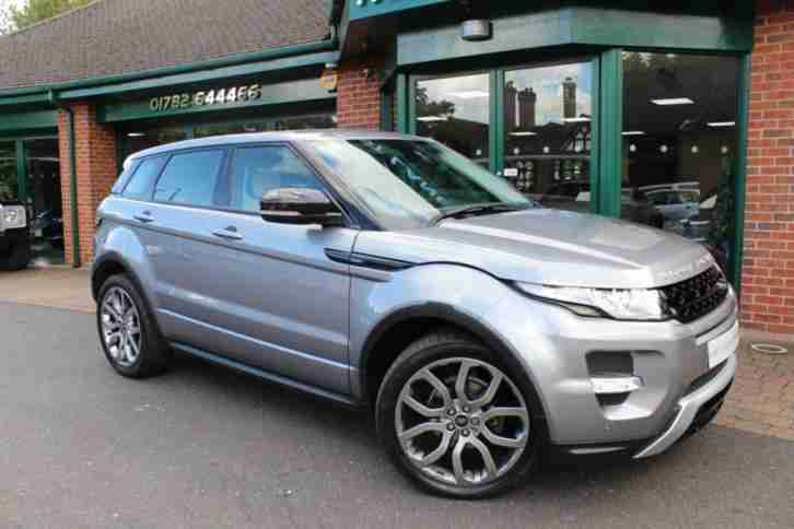 2013 13 LAND ROVER RANGE ROVER EVOQUE 2.2 SD4 DYNAMIC 5D AUTO 190 BHP (TWO TONE