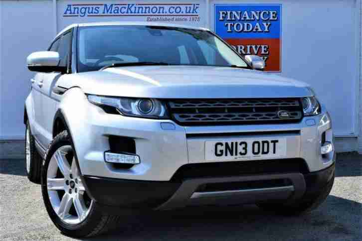 2013 13 LAND ROVER RANGE ROVER EVOQUE 2.2 SD4 PURE TECH 4X4 AUTO GREAT VALUE 5DR