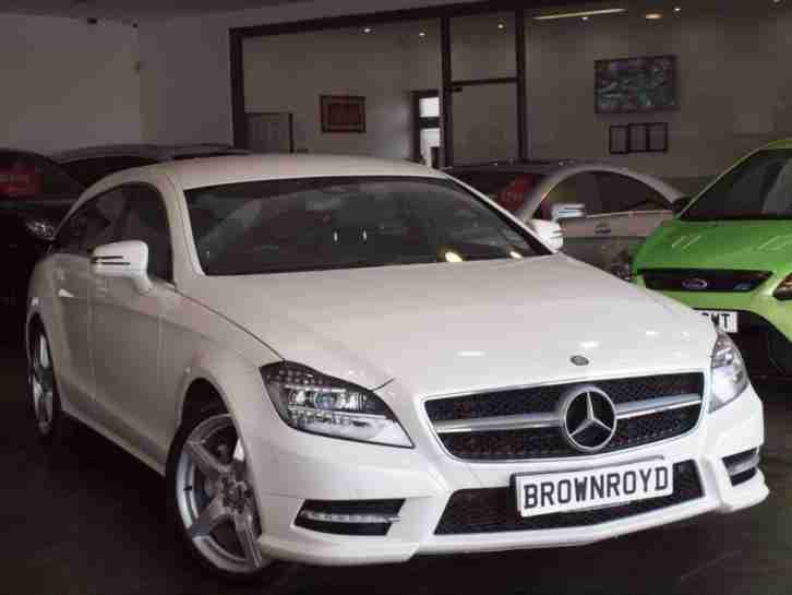 2013 13 MERCEDES-BENZ CLS CLASS 3.0 CLS350 CDI BLUEEFFICIENCY AMG SPORT SHOOTING